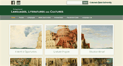 Preview of languages.colostate.edu
