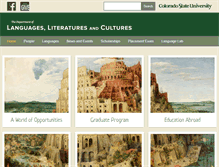 Tablet Preview of languages.colostate.edu